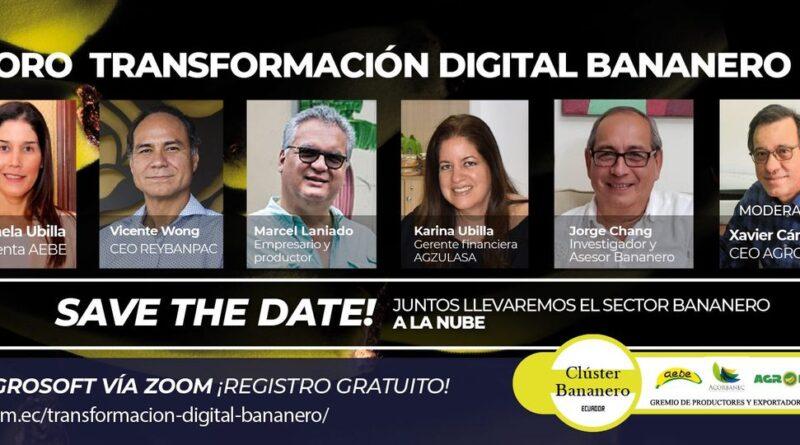 Foro Internacional: Transformación digital bananero
